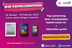 Blog Writing Competition: Eksis dengan Internet